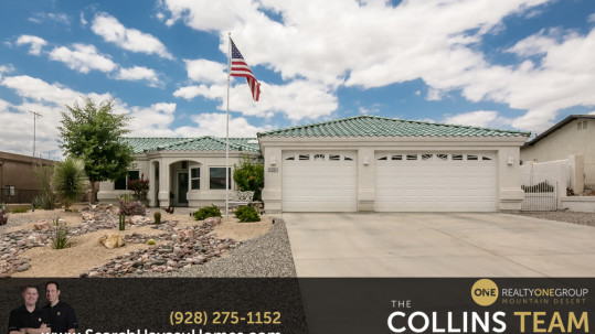 3 Car Garage Home in Lake Havasu City