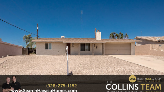 Affordable Havasu Home with Updated Kitchen