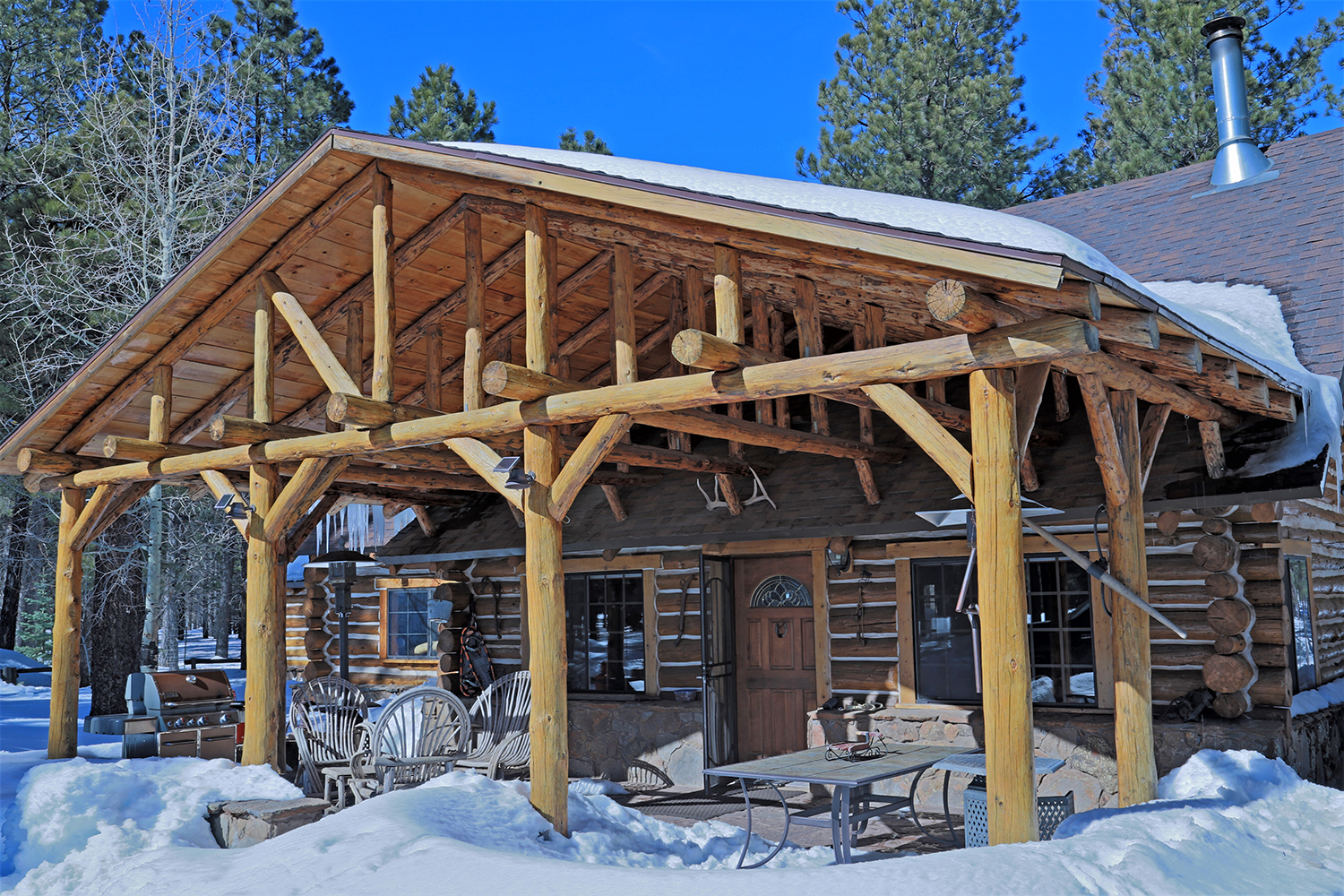 in williams flagstaff home arizona style for living ln cabins minstrel cabin s sale luxury