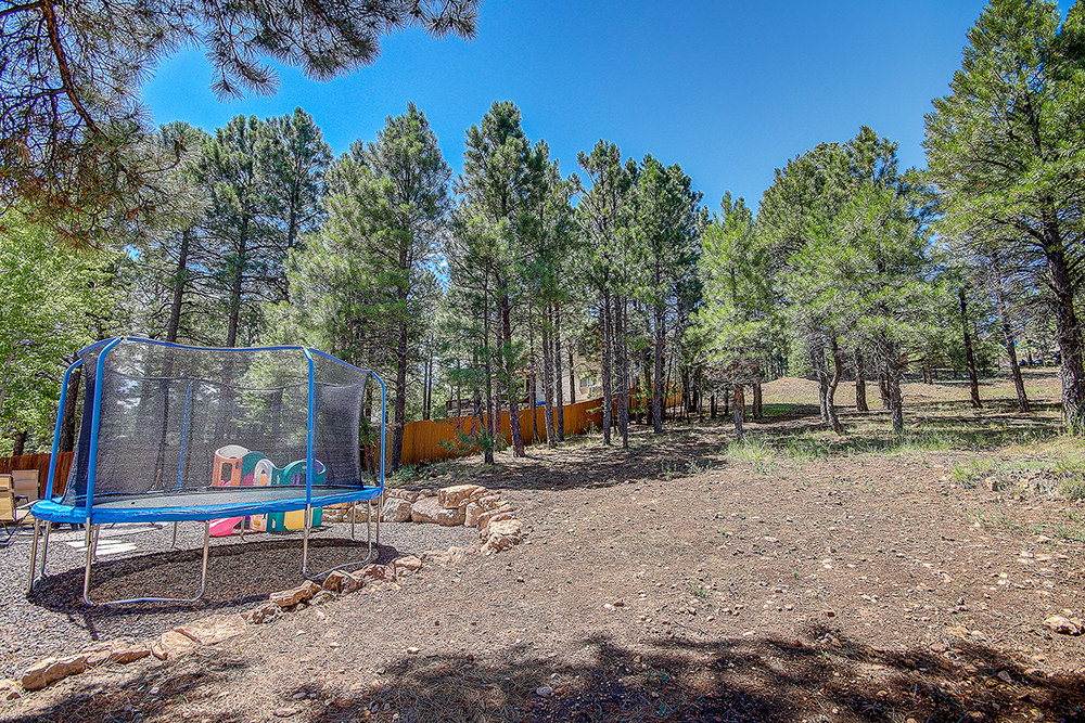 walnut ridge flagstaff home with yard