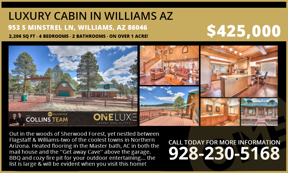 Luxury Cabin in Williams AZ