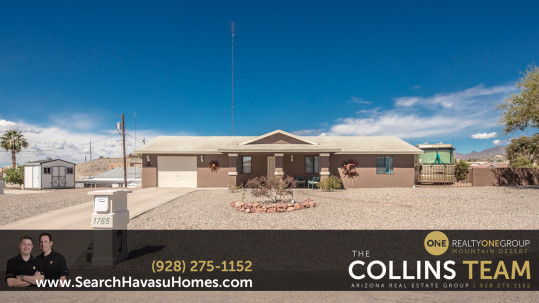 Home with RV Parking and Hookups in Lake Havasu City